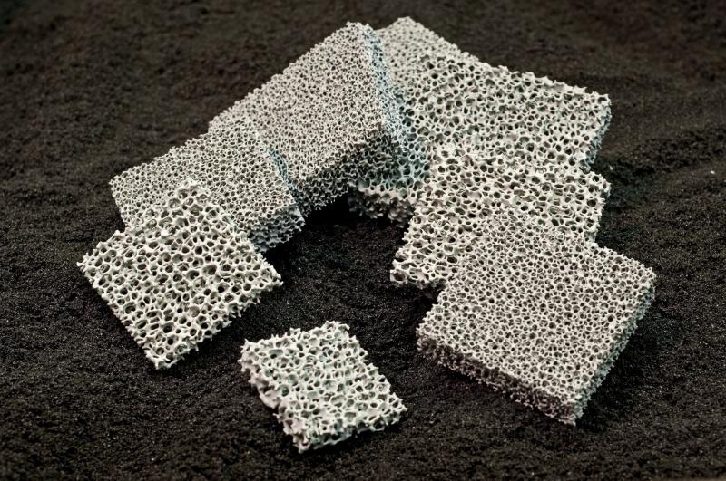 ceramiczne filtry piankowe